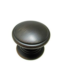 Contemporary Metal Knob -1 1/4 inch (32mm)
