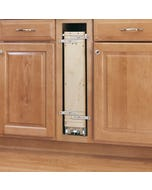 Base Cabinet Pull-out Organizer with Wood Adjustable Shelves - Fits Best in B9FHD
