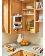 Door Mount Mail Organizer (Natural Wood) - Fits Best in W1830, W1836, or W1842