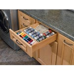 Cut-To-Size Wood Spice Drawer Insert - Fits Best in B15, DB15-3 B18, or DB18-3