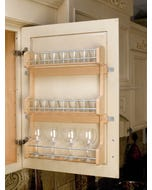 Door Mount Spice Rack - Fits Best in W1530, W1536, or W1542