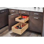 Double Soft Closing Slide Out Drawers with dividers - Fits Best in B18