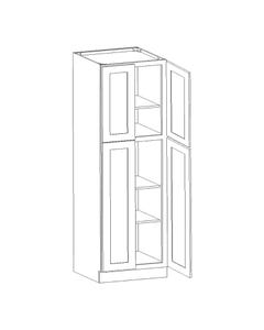 "Utility Cabinet 24"" x 96"""