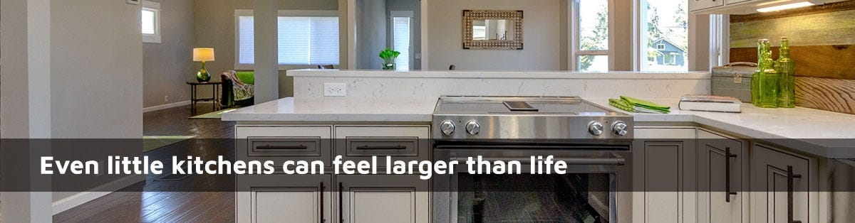 Small Kitchen Design Ideas: How To Make Your Space Feel Bigger