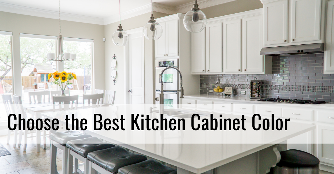 Style Guide: What Color Should I Get My Kitchen Cabinets in?