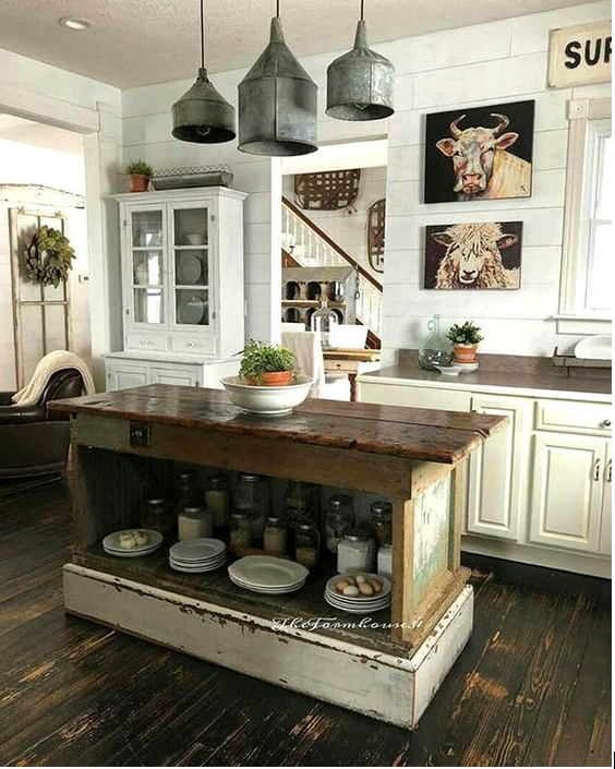 How To Design A Rustic Kitchen Cabinets Furniture Decor