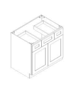 Vanity Sink Base Cabinet with Drawers 42""