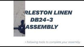 How to Assemble DB24-3 Charleston Linen