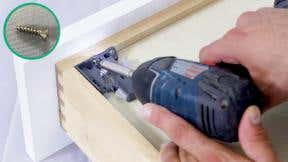 How to assemble base cabinet