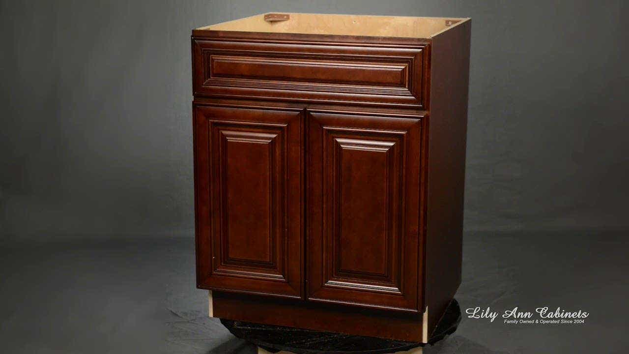 Lily Ann Cabinets Charleston Saddle Cabinet Features