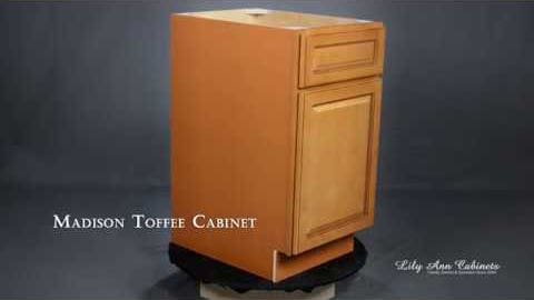 Lily Ann Cabinets Madison Toffee Cabinet Features