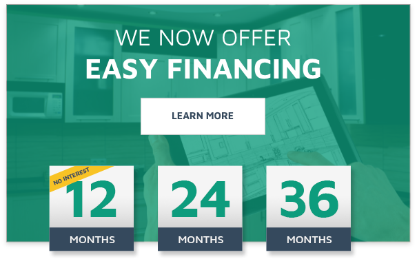 We now offer easy financing